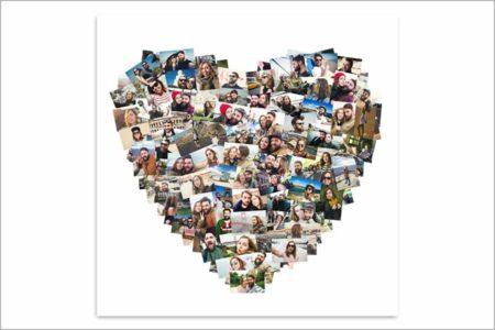 Collage Corazón