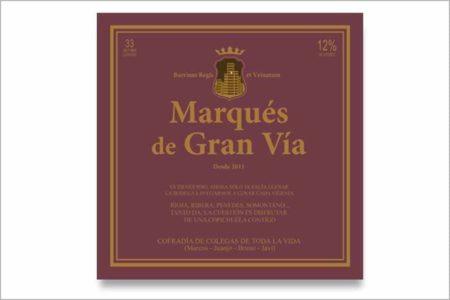 Etiqueta de vino Rioja