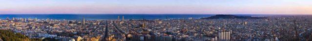 Skyline Barcelona foto 1 decoración.