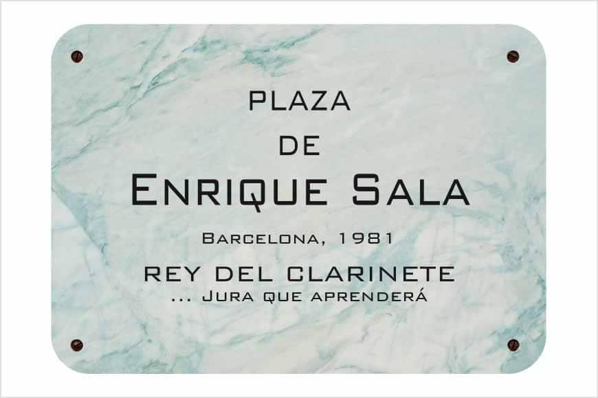 Placa de Barcelona