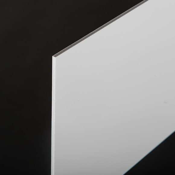 White 3 mm PVC