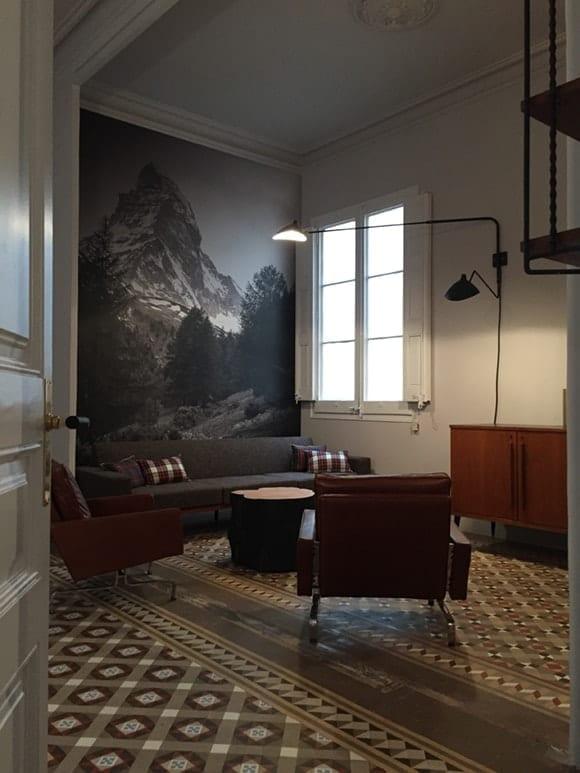 El Cervino en la sala de espera