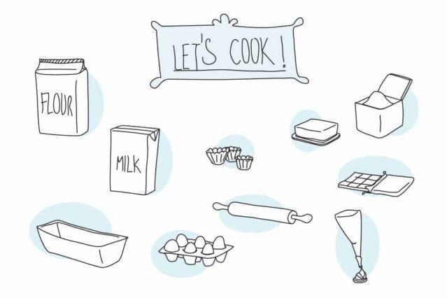 Vinilo Let's cook!