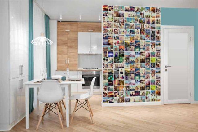 Un fotocollage para tener tus recuerdos a la vista