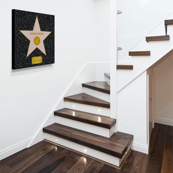Estrella de Hollywood per paret