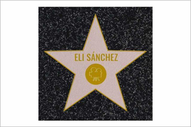 Estrella de Hollywood suelo