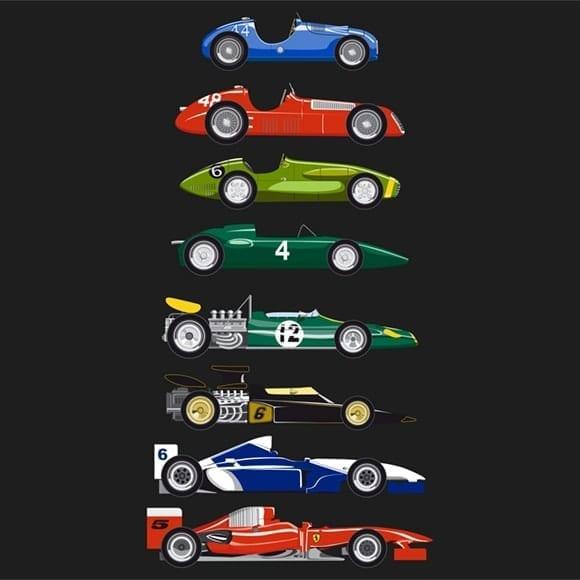 Vinilo Historia F1
