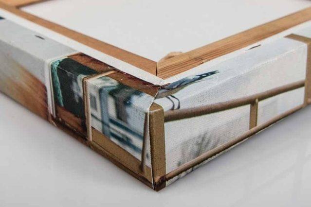 Lienzo bastidor madera