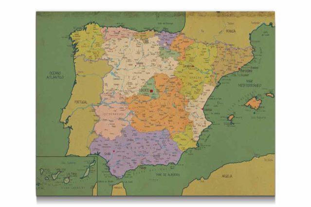 Mapa_Espana_vintage