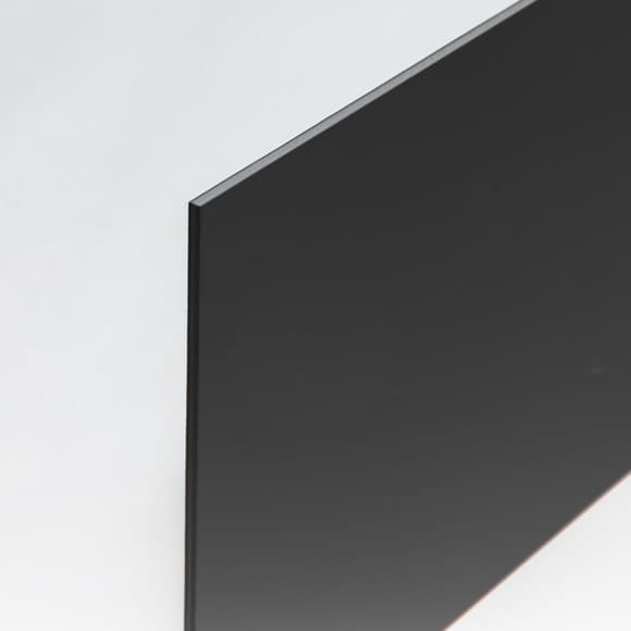 Black 3 mm PVC