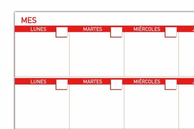 Planning mensual - 2