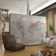 Mapamundi mural