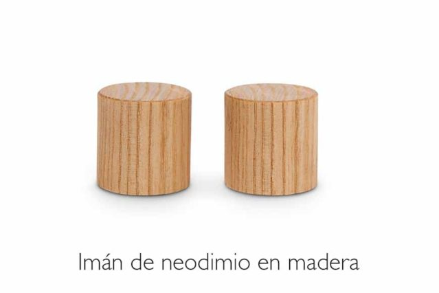 Imanes madera