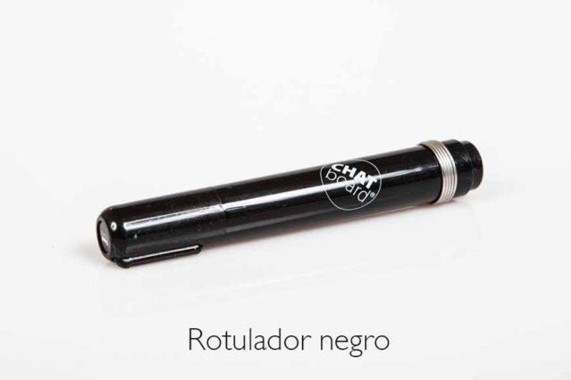 Rotulador negro