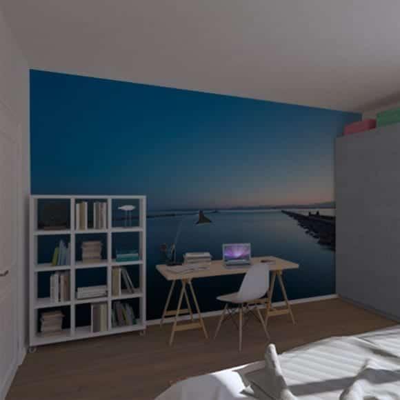 Relaxing photowall