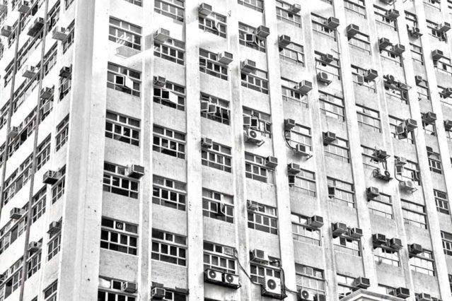 Ventanas en Hong Kong