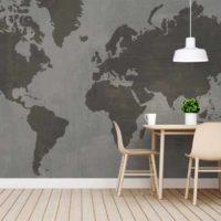mapamundi texturizado sin fronteras 3