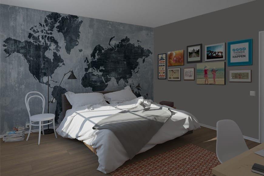 mapamundi texturizado sin fronteras 4