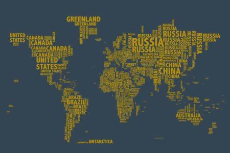 Mapa tipo con soporte