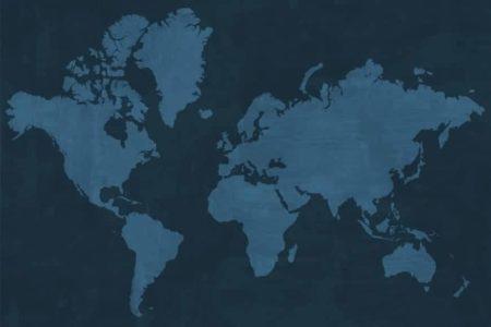 Mapamundi texturizado sin fronteras 2