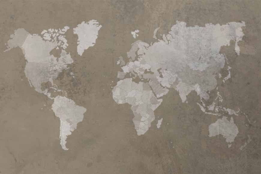 Mapamundi texturizado 1 con fronteras