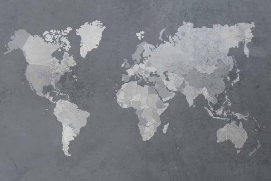 Mapamundi texturizado 2 con fronteras