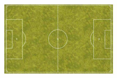 Pizarra velleda campo de fútbol