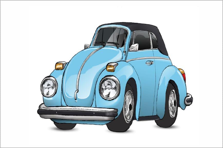 Volkswagen escarabajo cabrio