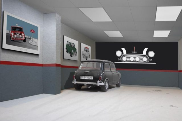 Garaje temático
