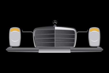 Mercedes w114 frontal