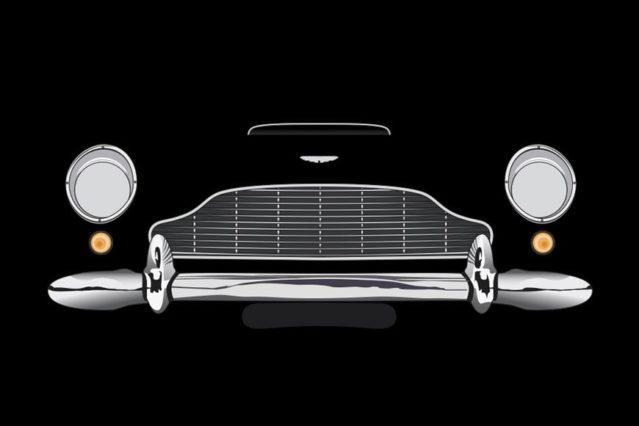 Aston Martin DB5 frontal