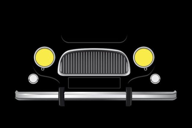 Renault 4L frontal