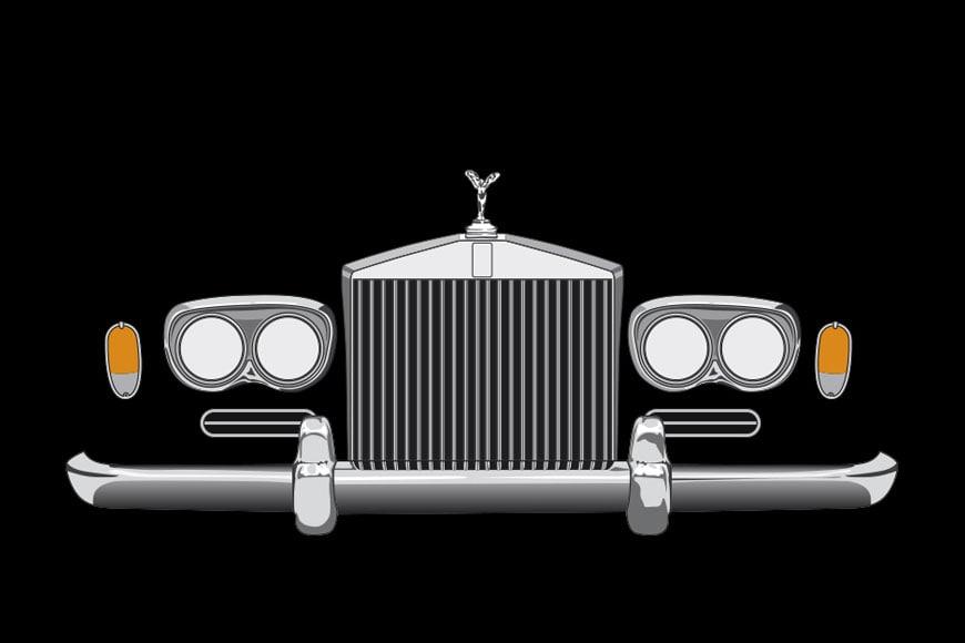 Rolls Royce Corniche I frontal