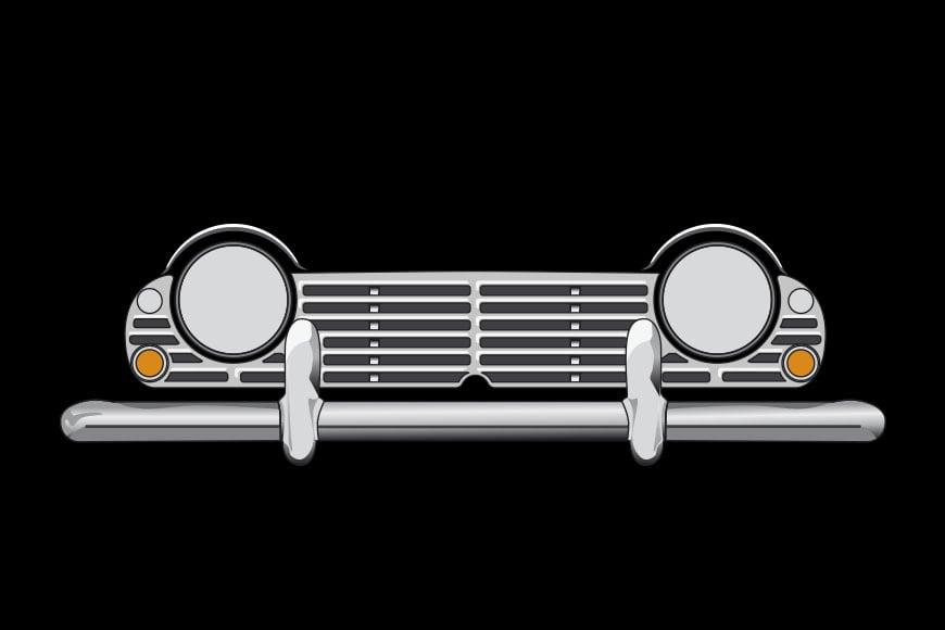 Triumph TR5 frontal