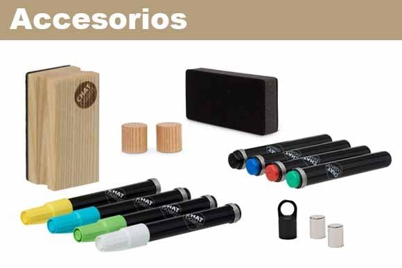 accesorios para pizarras de cristal