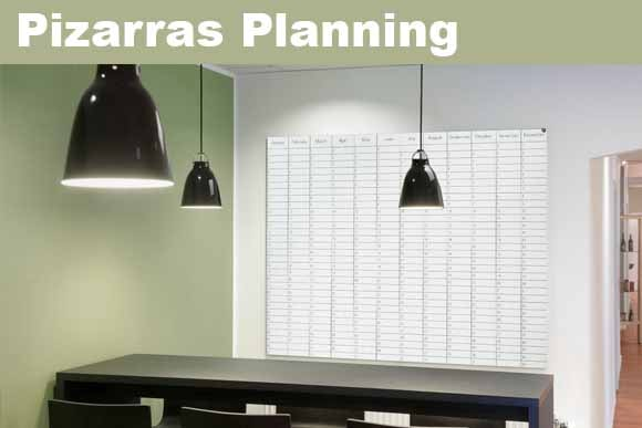 Pizarras planning