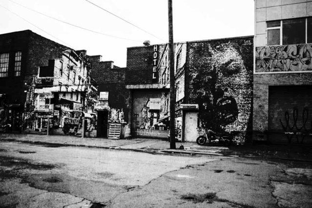 Graffiti en Williamsburg
