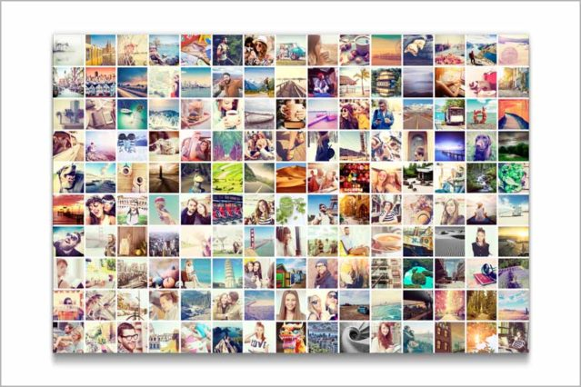 Consigue un efecto espectacular con este collage de fotos que puedes hacer a medida.