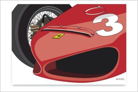Detalle del Ferrari 156