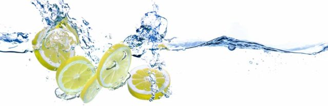 Fotomural limones
