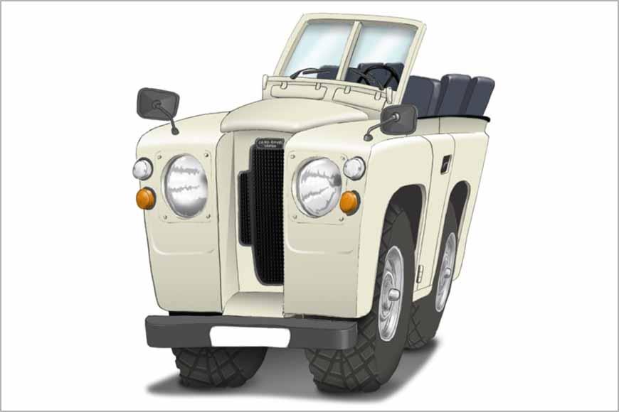 Land Rover 71