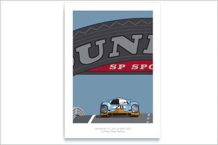 Porsche 917 en Le Mans