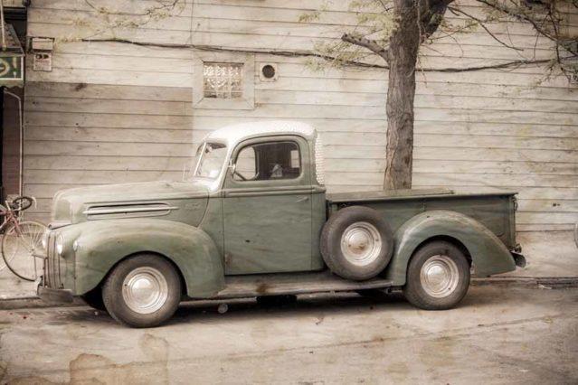 Camioneta vintage