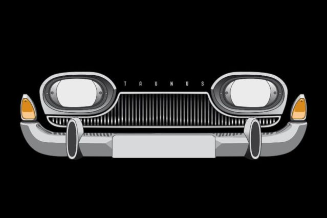 Ford Taunus frontal