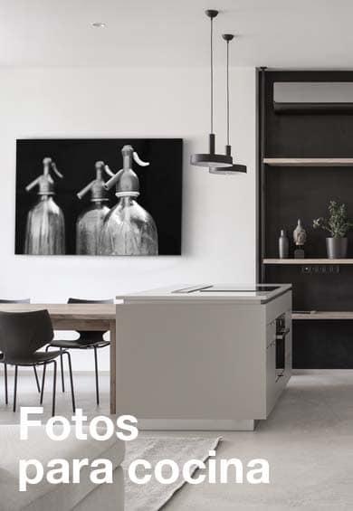 Fotos originales para la cocina