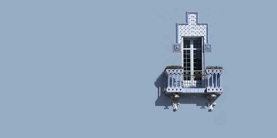 Una foto de una ventana modernista para un cuadro minimalista